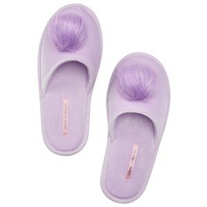 Victoria's Secret Pom-Pom Slipper Large 9 / 10 NEW